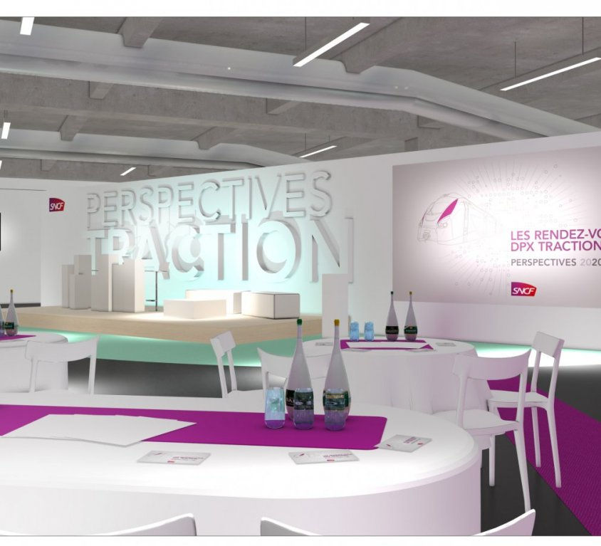 SNCF DPX Traction – Cité de la Mode et du Design