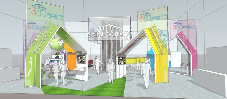 Expo Sensations Futures – Saint Gobain
